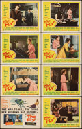 """Movie Posters:Science Fiction, The Fly (20th Century Fox, 1958). Very Fine-. Lobby Card Set of 8 (11"""" X 14""""). Science Fiction.. ... (Total: 8 Item..."""