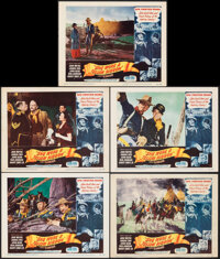 """She Wore a Yellow Ribbon (RKO, 1949). Very Fine. Lobby Cards (5) (11"""" X 14""""). Western. ... (Total: 5 Items)"""