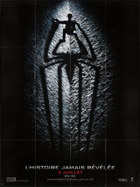"The Amazing Spider-Man (Columbia, 2012). Folded, Very Fine+. French Grande (46.5"" X 62"") Advance. Action"