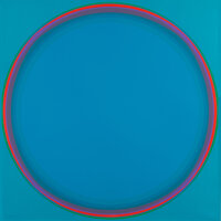 Lothar Quinte (1923-2000) Untitled, 1973 Silkscreens in colors on cardboard 35 x 35 inches (88.9
