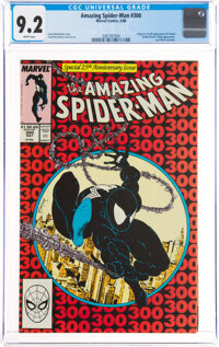 The Amazing Spider-Man #300 (Marvel, 1988) CGC NM- 9.2 White pages