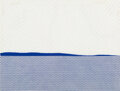 Prints & Multiples, Roy Lichtenstein (1923-1997). Seascape I, from New York Ten, 1965. Screenprint in colors on translucent Rowlux. 16-3...