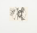 Prints & Multiples, Robert Motherwell (1915-1991). The 40's, 1977. Aquatint and etching on wove paper. 5-3/4 x 7-3/4 inches (14.6 x 19.7 cm)...
