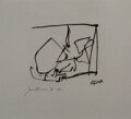 Prints & Multiples, Robert Motherwell (1915-1991). Untitled (State II). Aquatint and etching on wove paper. 7-3/4 x 9-1/2 inches (19.7 x 24....