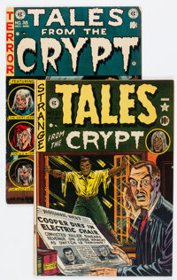 Tales from the Crypt #21 and 38 Group (EC, 1951-53).... (Total: 2 )