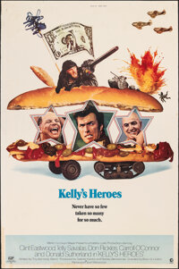 """Kelly's Heroes (MGM, 1970). Rolled, Fine+. Poster (40"""" X 60""""). War"""