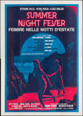 """Movie Posters:Foreign, Summer Night Fever (Rex Film, 1979). Folded, Very Fine. Italian 4 - Fogli (55"""" X 77.5""""). Foreign.. ..."""