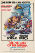"""Movie Posters:War, The Heroes of Telemark (Columbia, 1966). Rolled, Fine/Very Fine. Poster (40"""" X 60""""). War.. ..."""