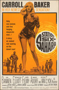 """Movie Posters:Drama, Station Six-Sahara (Allied Artists, 1964). Rolled, Very Fine-. Poster (40"""" X 60""""). Drama.. ..."""