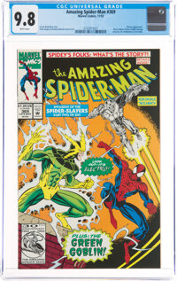 The Amazing Spider-Man #369 (Marvel, 1992) CGC NM/MT 9.8 White pages