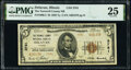 National Bank Notes:Illinois, Delavan, IL - $5 1929 Ty. 2 The Tazewell County National Bank Ch. # 3781 PMG Very Fine 25.. ...
