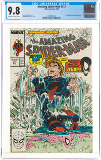 The Amazing Spider-Man #315 (Marvel, 1989) CGC NM/MT 9.8 Off-white to white pages