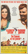 """Movie Posters:Comedy, The Taming of the Shrew (Columbia, 1967). Folded, Very Fine-. Three Sheet (41"""" X 79""""). Comedy.. ..."""