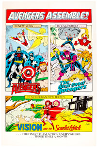 Assorted Comic and Animation Poster Group of 7 (1985-1996).... (Total: 7 Items)