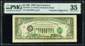 Error Notes:Third Printing on Reverse, Third Printing on Back Error Fr. 1976-L $5 1981 Federal Reserve Note. PMG Choice Very Fine 35.. ...