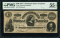 """Confederate Notes:1864 Issues, CT65/491 $100 1864 """"Havana"""" Counterfeit PMG About Uncirculated 55 EPQ.. ..."""