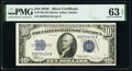 Small Size:Silver Certificates, Fr. 1704 $10 1934C Silver Certificate. PMG Choice Uncirculated 63 EPQ.. ...