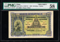 World Currency, China Hongkong & Shanghai Banking Corporation, Chefoo 10 Dollars 1.9.1922 Pick S317s S/M#Y13 Specimen PMG Choice About Unc...