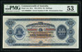 Australia Commonwealth of Australia 10 Shillings ND (1913) Pick 1Ac R1a Serial Number 89 Presentation Note PMG About Unc...
