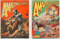Pulps:Science Fiction, Amazing Stories Group of 2 (Ziff-Davis, 1928).... (Total: 2 Items)