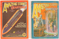 Amazing Stories Quarterly Group of 2 (Radio-Science Publications, 1928) Condition: Average FN.... (Total: 2 Items)
