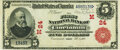 Cincinnati, OH - $5 1902 Red Seal Fr. 587 The First National Bank Ch. # (M)24 PMG Choice Very Fine 35.<
