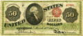Large Size:Legal Tender Notes, Fr. 150 $50 1863 Legal Tender PMG Very Fine 20.. ...