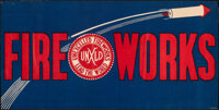 """Fireworks Posters (Various, 1930s - 1970s). Rolled, Overall: Very Fine-. Posters (3) (18"""" X 36"""", 17.5"""" X..."""
