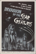 """Movie Posters:Science Fiction, Invasion of the Star Creatures (American International, 1962). Folded, Very Fine-. One Sheet (27"""" X 41""""). Science Fiction.. ..."""