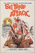 """Movie Posters:War, Ski Troop Attack & Other Lot (Filmgroup, 1960). Folded, Overall: Very Fine. One Sheets (2) (27"""" X 41""""). War.. ... (Total: 2 Items)"""