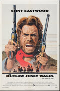"""Movie Posters:Western, The Outlaw Josey Wales (Warner Bros., 1976). Folded, Very Fine-. One Sheet (27"""" X 41"""") Roy Anderson Artwork. Western.. ..."""