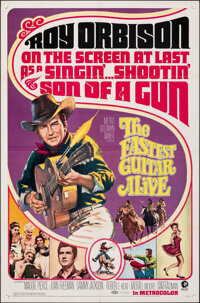 """The Fastest Guitar Alive (MGM, 1967). Folded, Very Fine-. One Sheet (27"""" X 41""""). Western"""