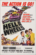 """Movie Posters:Sports, Hell on Wheels (Crown International, 1967). Folded, Very Fine. One Sheet (27"""" X 41""""). Sports.. ..."""
