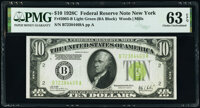 Fr. 2003-B $10 1928C Federal Reserve Notes. Two Consecutive Examples. PMG Choice Uncirculated 63 EPQ. ... (Total: 2)
