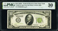 Fr. 2003-B $10 1928C Federal Reserve Note. PMG Very Fine 30