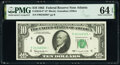 Small Size:Federal Reserve Notes, Fr. 2016-F* $10 1963 Federal Reserve Star Note. PMG Choice...