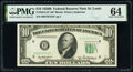 Small Size:Federal Reserve Notes, Fr. 2012-H* $10 1950B Federal Reserve Star Note. PMG Choic...