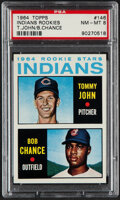 Baseball Cards:Singles (1960-1969), 1964 Topps Tommy John - Indians Rookies #146 PSA NM-MT 8.