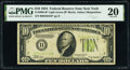 Small Size:Federal Reserve Notes, Fr. 2004-B* $10 1934 Light Green Seal Federal Reserve Star...