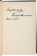 Autographs:U.S. Presidents, Benjamin Harrison Signed Copy of This Country of Ours. ...
