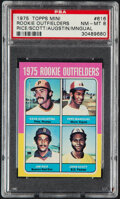 Baseball Cards:Singles (1970-Now), 1975 Topps Mini Jim Rice - Rookie Outfielders #616 PSA NM-...