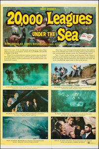 "20,000 Leagues Under the Sea (Buena Vista, 1954). Folded, Fine/Very Fine. One Sheet (27"" X 41"") Style B. Scien..."