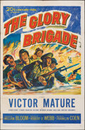 """Movie Posters:War, The Glory Brigade & Other Lot (20th Century Fox, 1953). Folded, Overall: Fine/Very Fine. One Sheets (2) (27"""" X 41""""). War.. ... (Total: 2 Items)"""