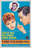 """Movie Posters:Comedy, Forever Darling (MGM, 1956). Folded, Overall: Very Fine-. One Sheet (27"""" X 41"""") & Australian One Sheet (27"""" X 40""""). Comedy.... (Total: 2 Items)"""