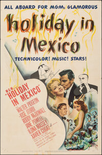 """Holiday in Mexico (MGM, 1946). Folded, Fine-. One Sheet (27"""" X 41"""") & Australian One Sheet (27"""" X 40&..."""