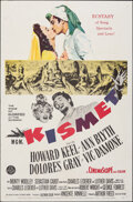 """Movie Posters:Musical, Kismet (MGM, 1956). Folded, Overall: Fine/Very Fine. One Sheet (27"""" X 41"""") & Australian One Sheet (27"""" X 40""""). Musical.. ... (Total: 2 Items)"""