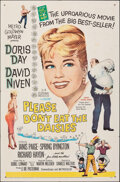 """Movie Posters:Comedy, Please Don't Eat the Daisies (MGM, 1960). Folded, Very Fine-. One Sheet (27"""" X 41""""). Comedy.. ..."""