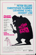 """Movie Posters:Comedy, The Return of the Pink Panther (United Artists, 1975). Folded, Fine/Very Fine. One Sheet (27"""" X 41"""") Richard Williams Artwor..."""
