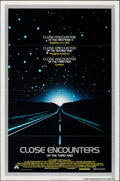 "Movie Posters:Science Fiction, Close Encounters of the Third Kind (Columbia, 1977). Folded, Very Fine. One Sheet (27"" X 41""). Science Fiction.. ....."