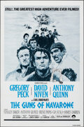 """Movie Posters:War, The Guns of Navarone (Columbia, R-1979/R-1966). Folded, Very Fine+. One Sheet (27"""" X 41"""") & Lobby Card Set of 8 (11"""" X 14"""") ... (Total: 9 Items)"""